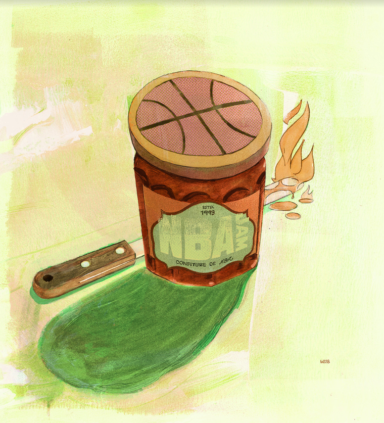 Confiture de NBA by Wilfred Santiago