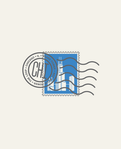 """Sears Tower, Chicago IL Stamp"" by Sean Mort"
