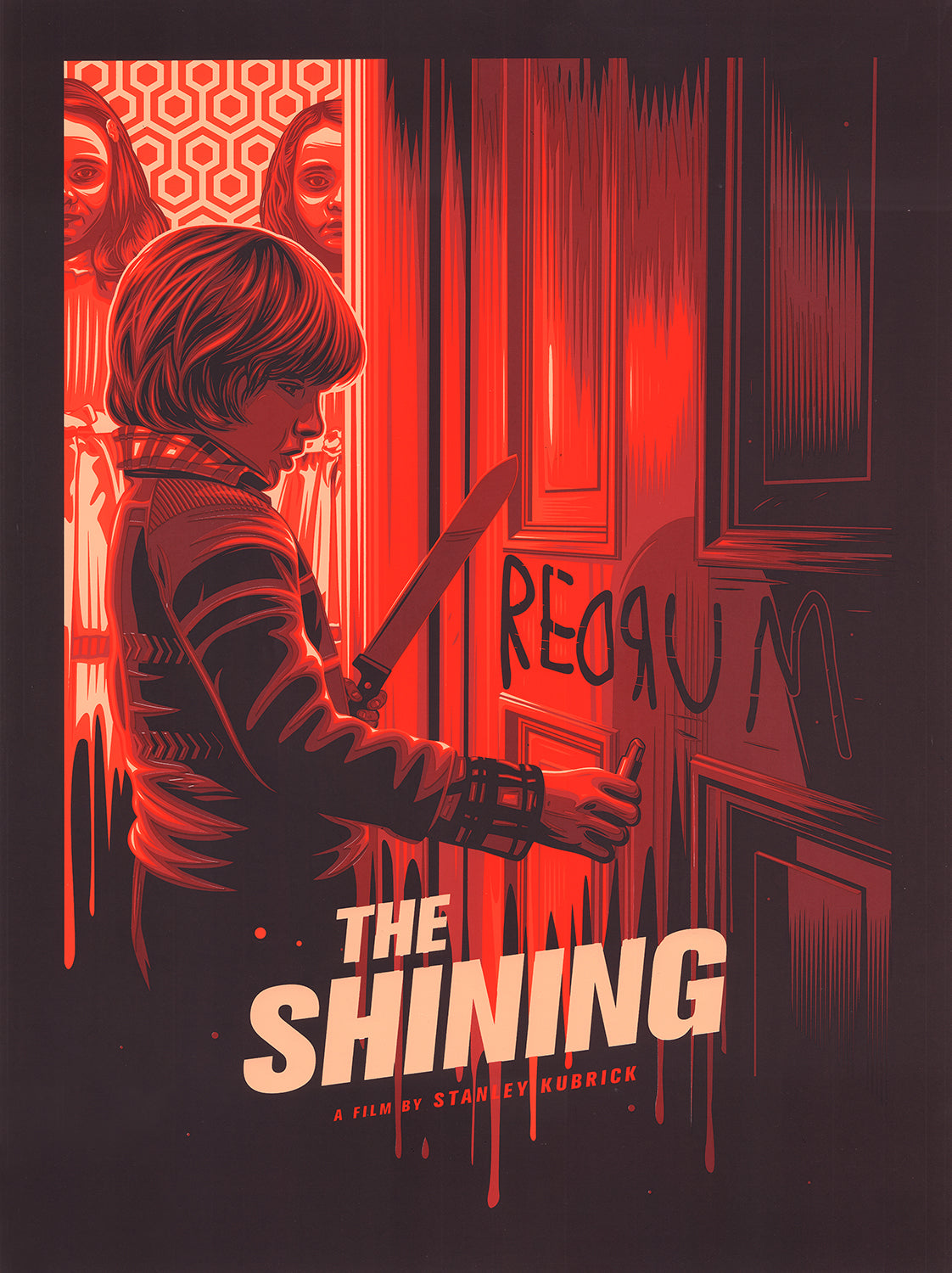 The Shining Print by Dave Stafford