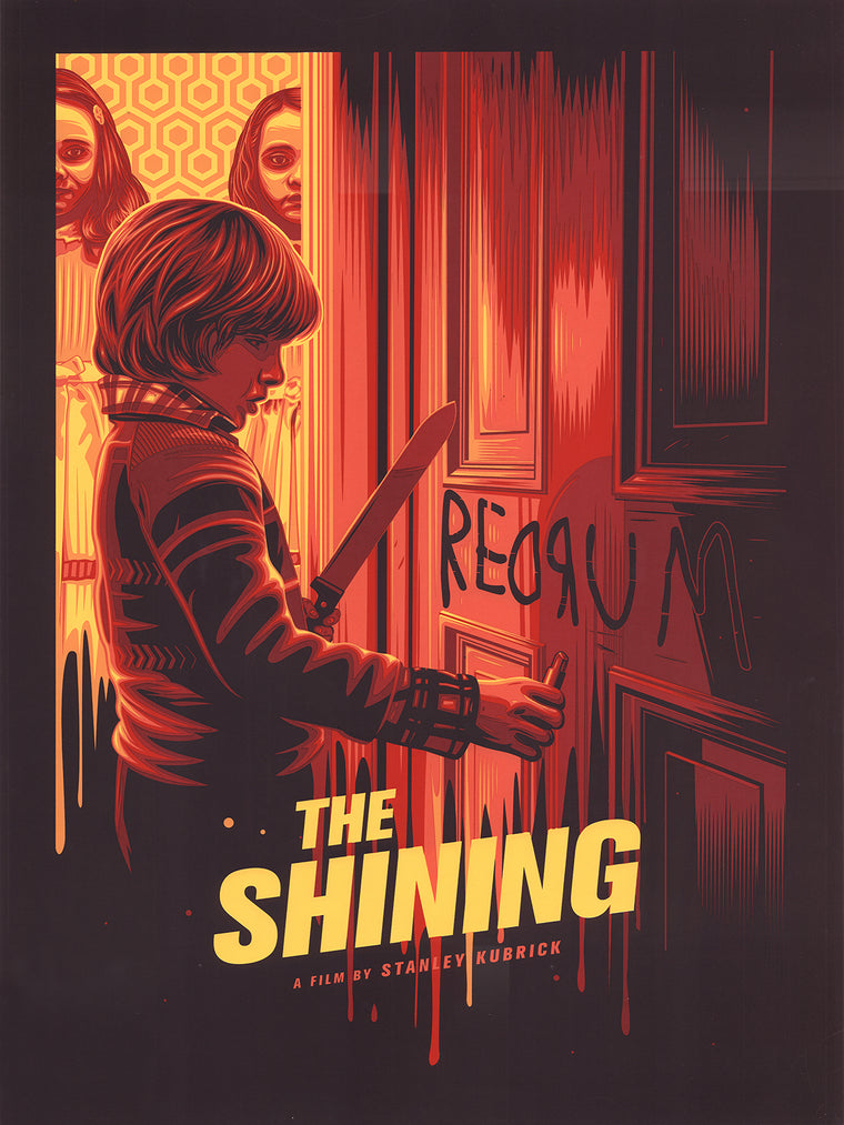 The Shining Variant Print by Dave Stafford