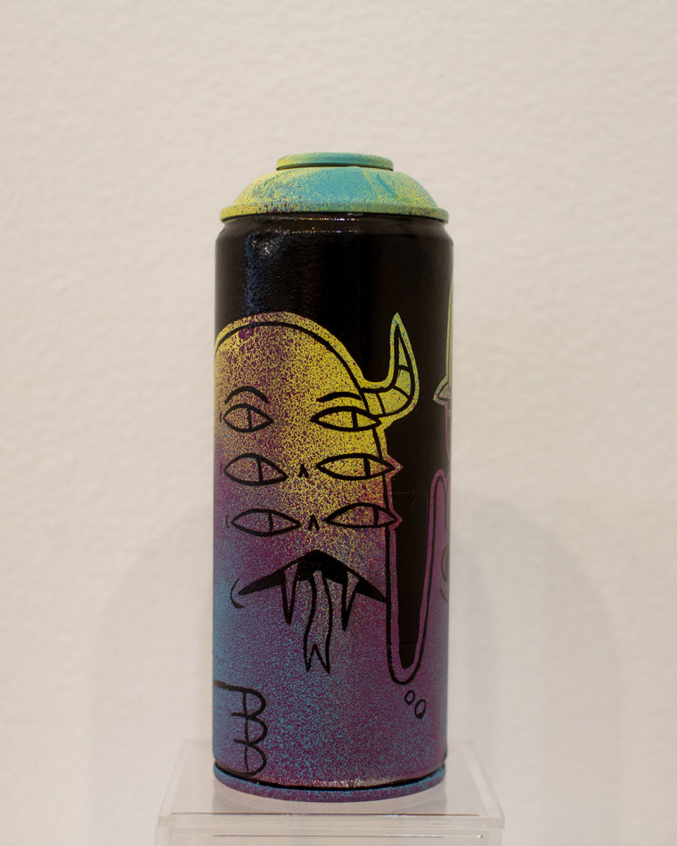 Six Eyes Better Than Two Spray Can by Blake Jones