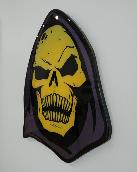 Skeletor Plaque Original by R6D4