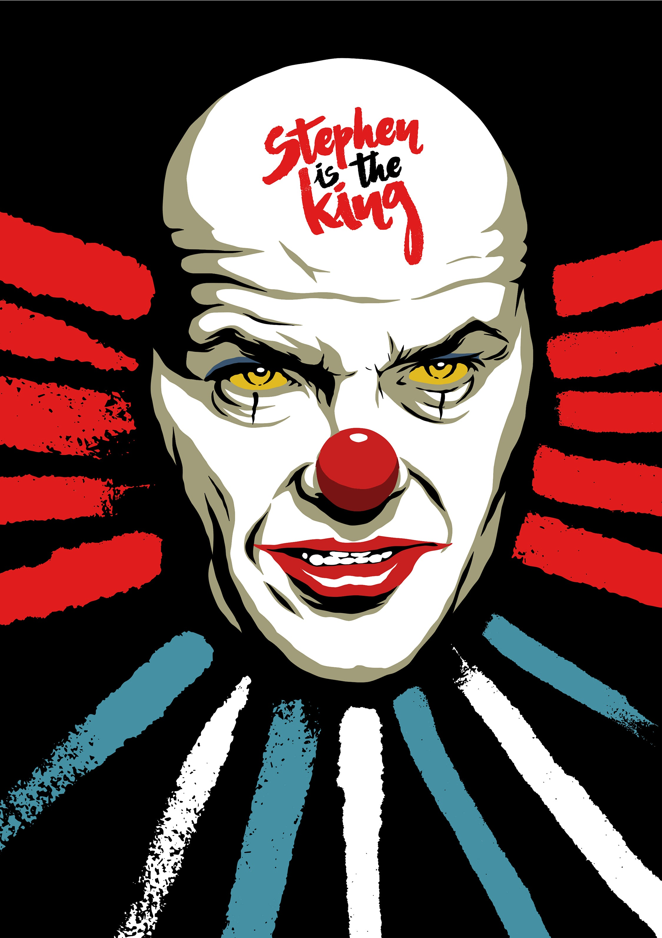 Stephen is King Print by Butcher Billy