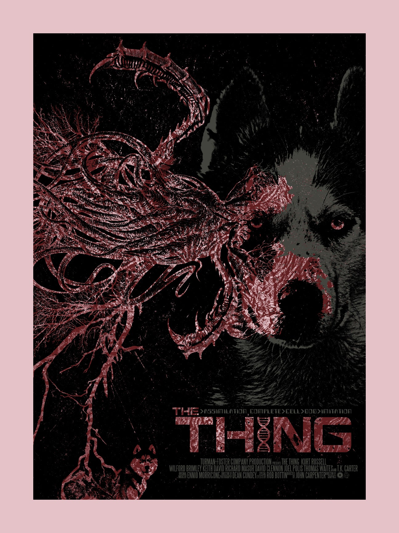 The Thing Variant Print by Chris Garofalo