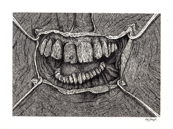 Teeth Original by Anthony Christopher