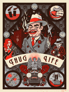 """Thug Life Foil Variant // Loaded Guns 2 Exclusive"" by Dr. Juanpa"