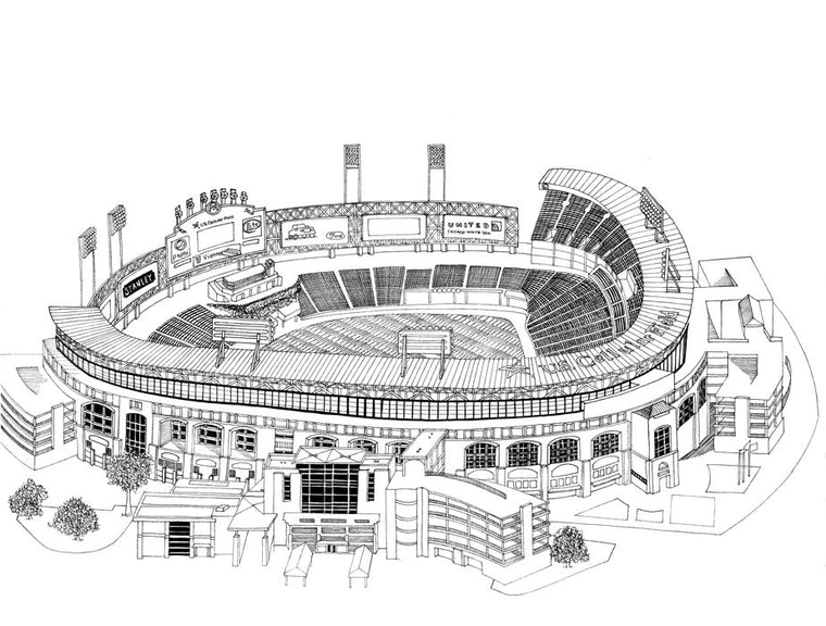Cellular Field Print by Kate Lewis