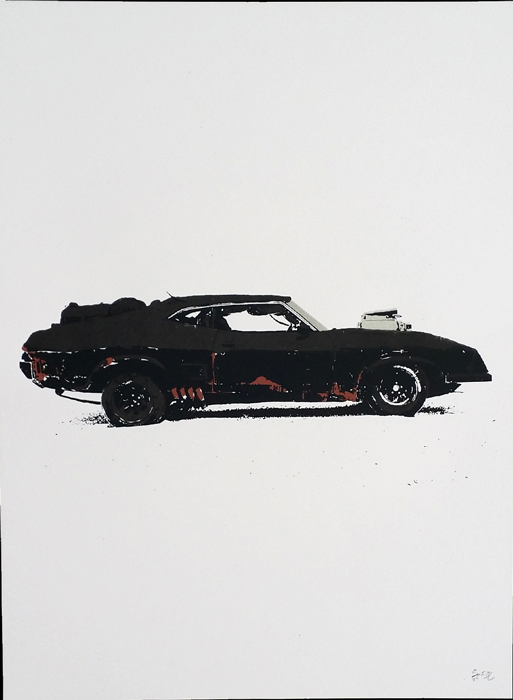 Pursuit Special Last of the V8's // Loaded Guns 2 Exclusive Print by Francisco Ramirez