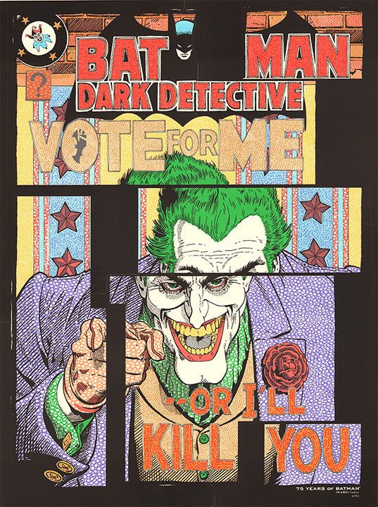 Vote For Me: 75 Years of Batman