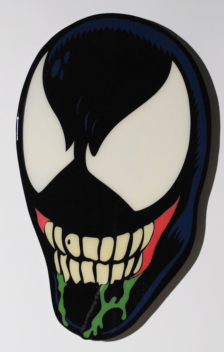 Venom Plaque Original Wood Cut by R6D4