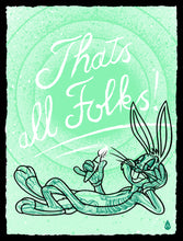 "Load image into Gallery viewer, ""That's All Folks"" by Will Blood"