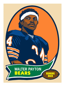 """Walter Payton"" by Adam Shortlidge"