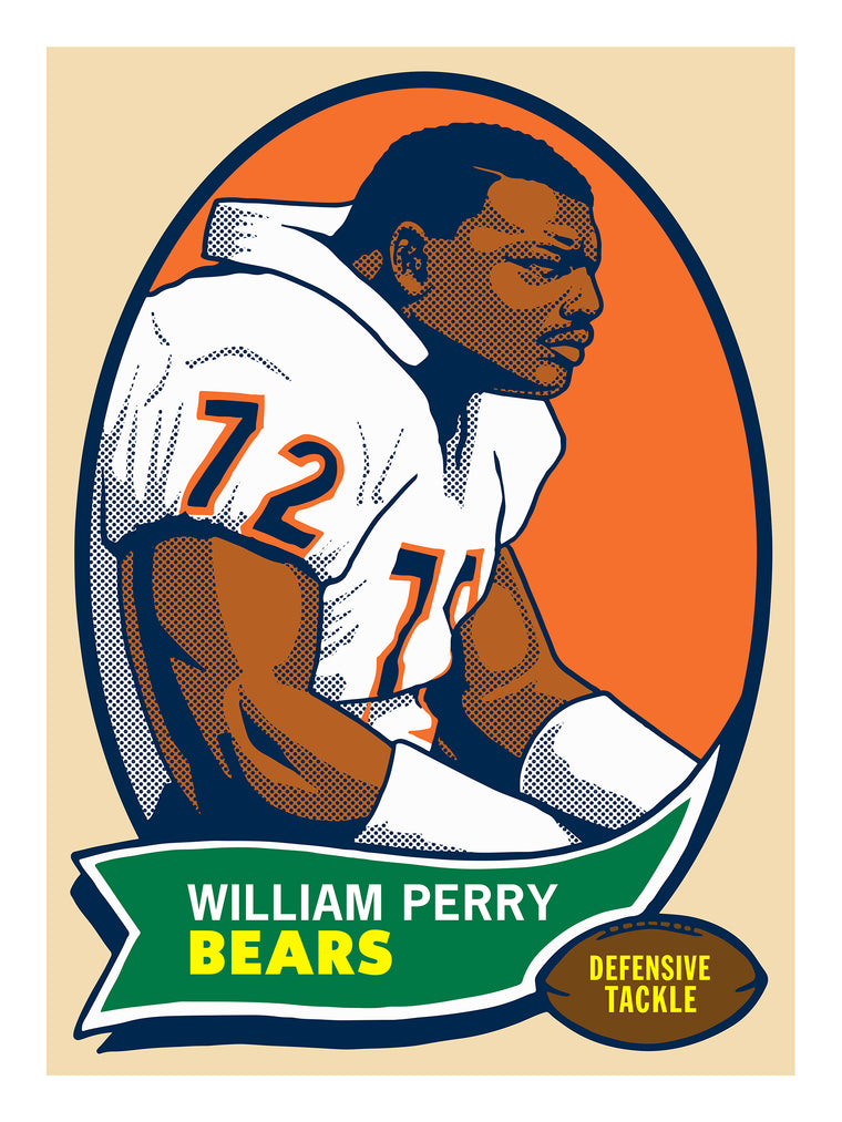 William Perry Print by Adam Shortlidge
