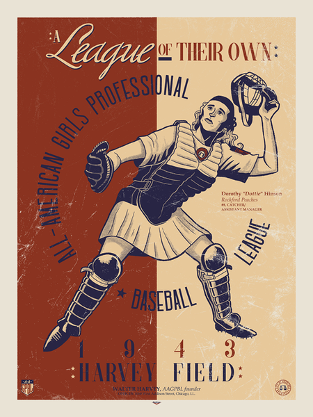 A League of Their Own Print by Ian Glaubinger