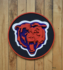 Bears Plaque by Isabelle Tasseff-Elenkoff
