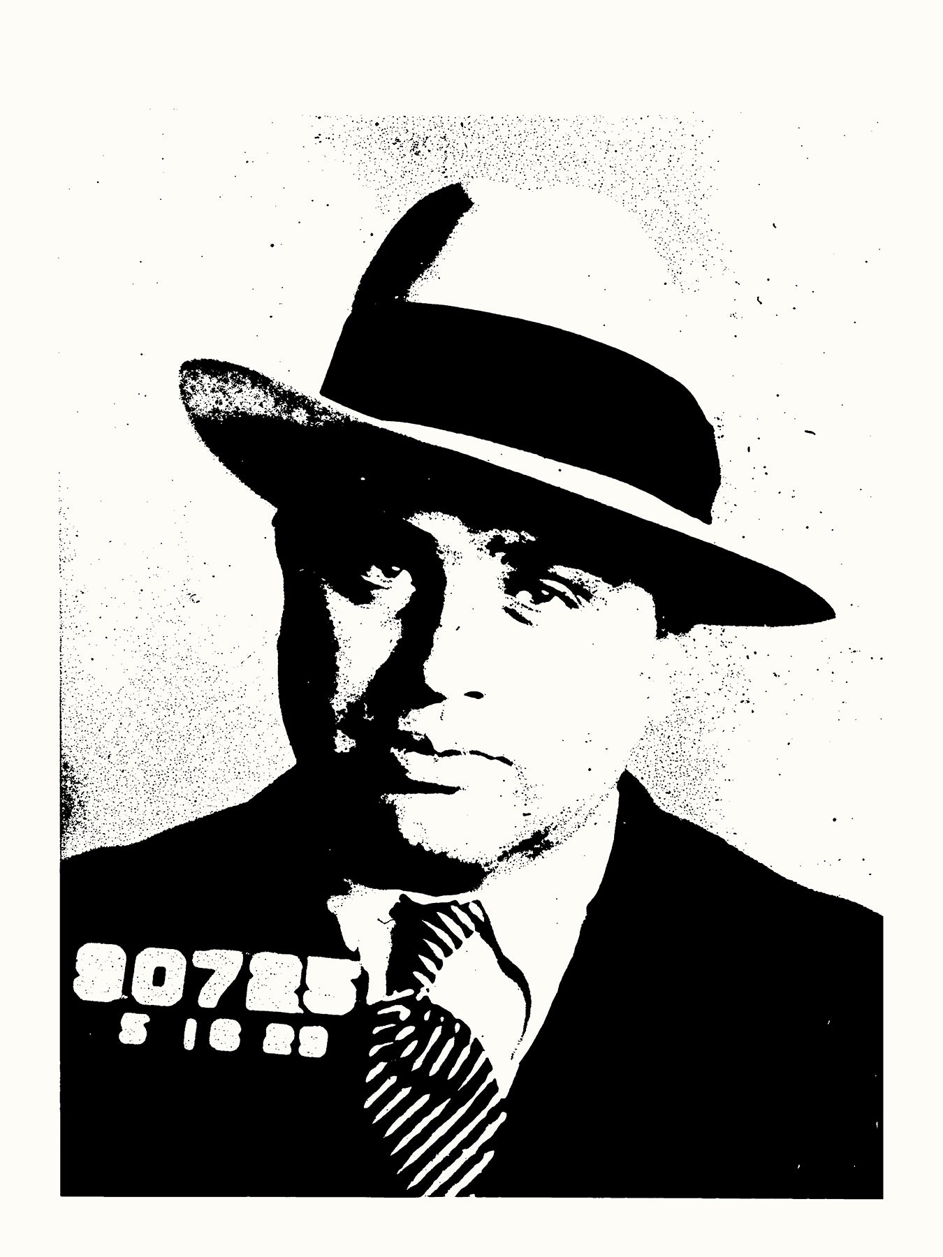 Al Capone // Loaded Guns 2 Exclusive Print by Blunt Graffix