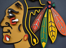 "Load image into Gallery viewer, ""Blackhawks"" by Isabelle Tasseff-Elenkoff"