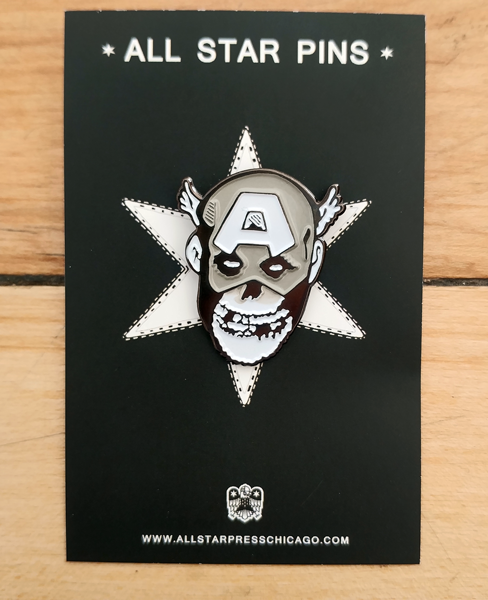 Captain America Pin by R6D4