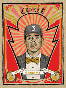 """Chance the Rapper Metro Private Grammy Party, Chicago 2017"" by Zissou Tasseff-Elenkoff"