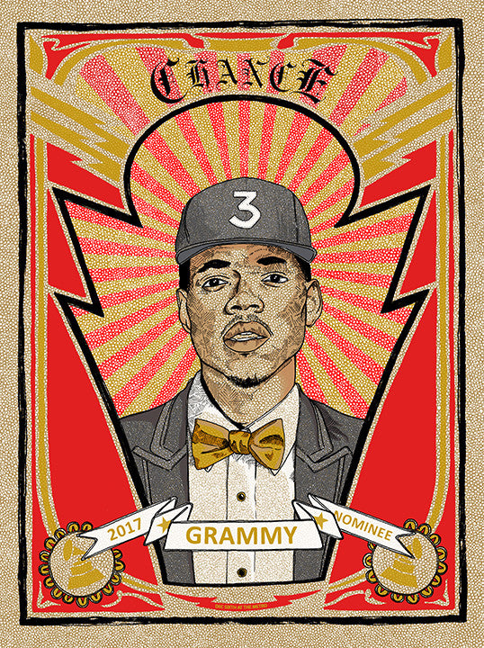 Chance the Rapper Poster-Chicago 2017