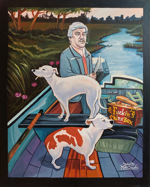No More Shines, Billy // Loaded Guns 2 Exclusive Original by Dave MacDowell