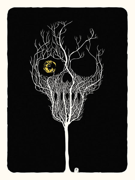 Night of The Dead Print by Delicious Design League