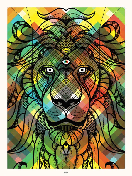 Delicious Design Lion Print by Delicious Design League