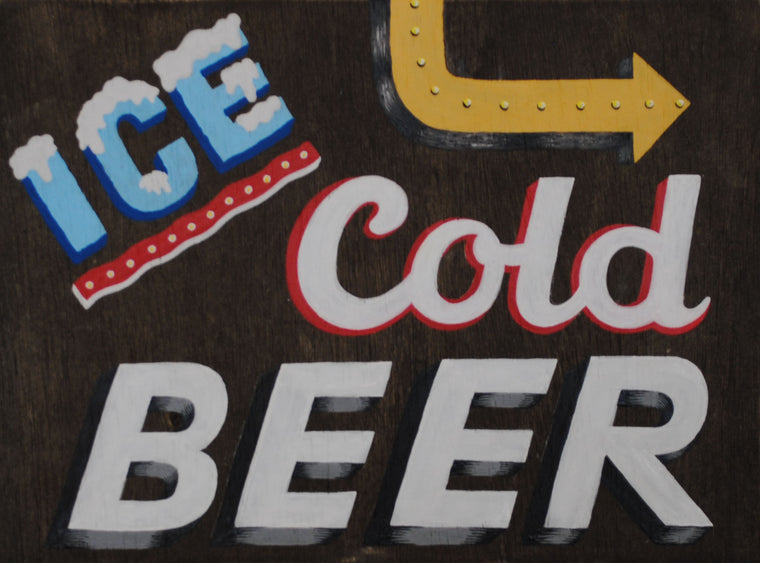 Cold Beer That A Way Original by Erik Lundquist