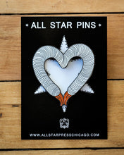 Load image into Gallery viewer, GooseHeart Pin by Goosenek
