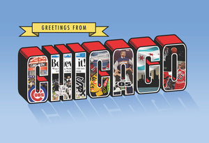 Chicago Champions Print by Greetings Tour