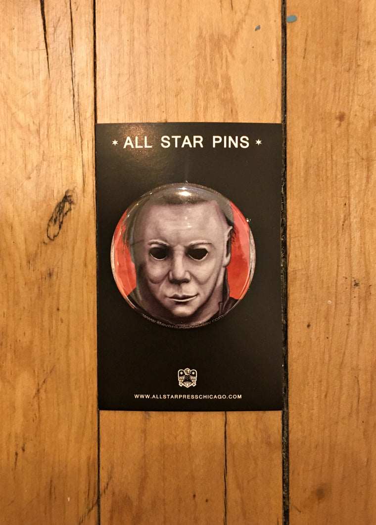 Halloween Button by Steven Holliday
