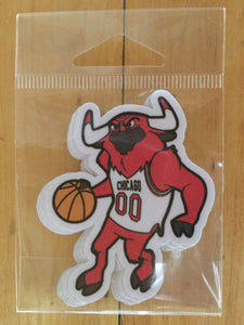 Bulls Mascot Sticker Pack by Ian Glaubinger