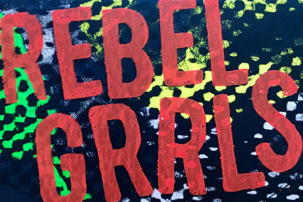 Rebel Girls Screenprinted Stickers by Tararchy