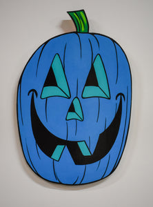 Jack-O-Lantern / Blue by Chris Uphues