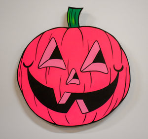 Jack-O-Lantern / Pink by Chris Uphues