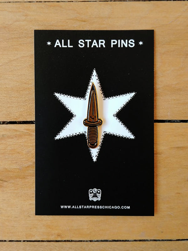 Dagger Boy Enamel Pin by Blake Jones