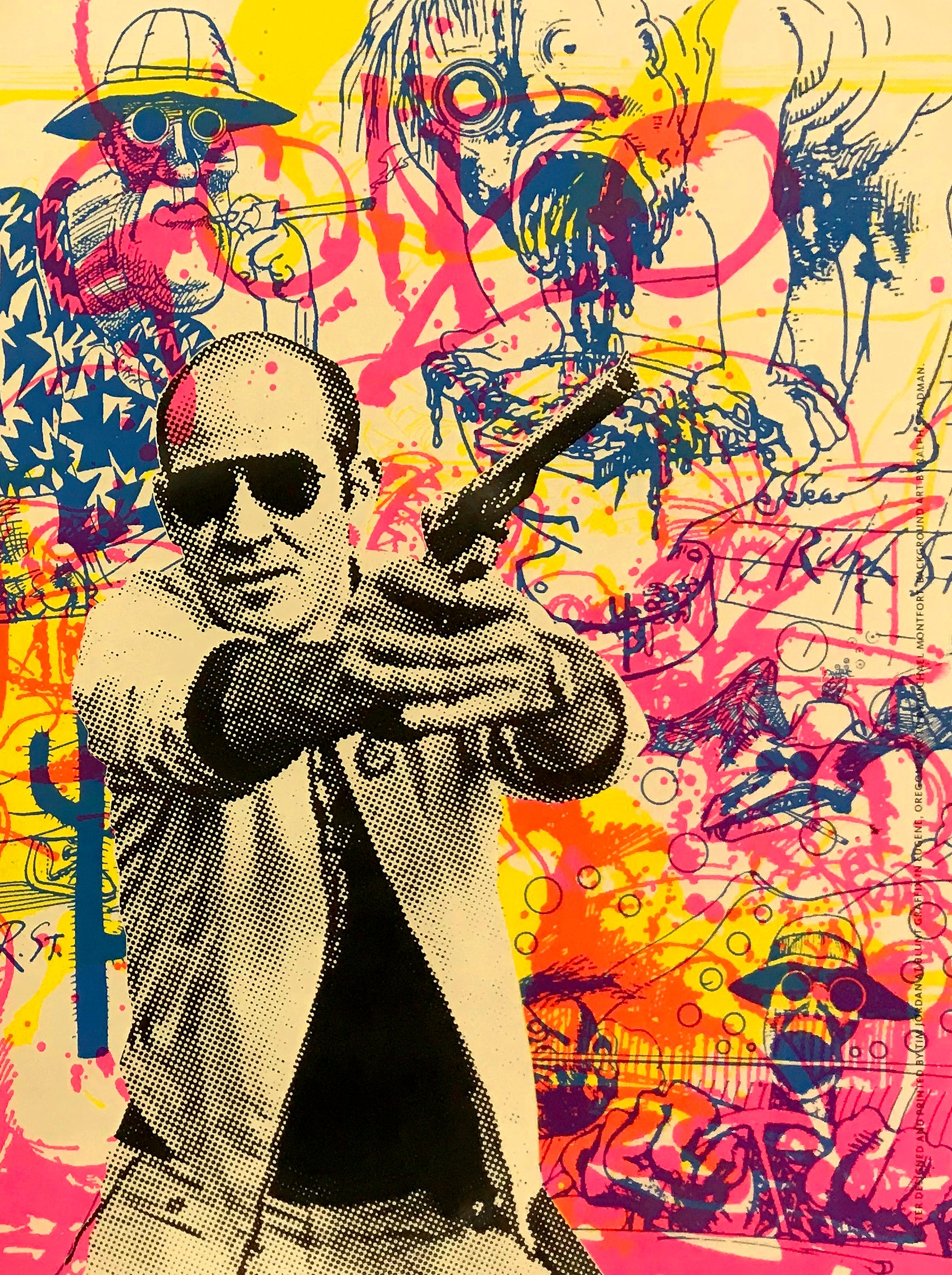 Buy The Ticket, Take The Ride // Loaded Guns 2 Exclusive Print by Tim Jordan & Blunt Graffix