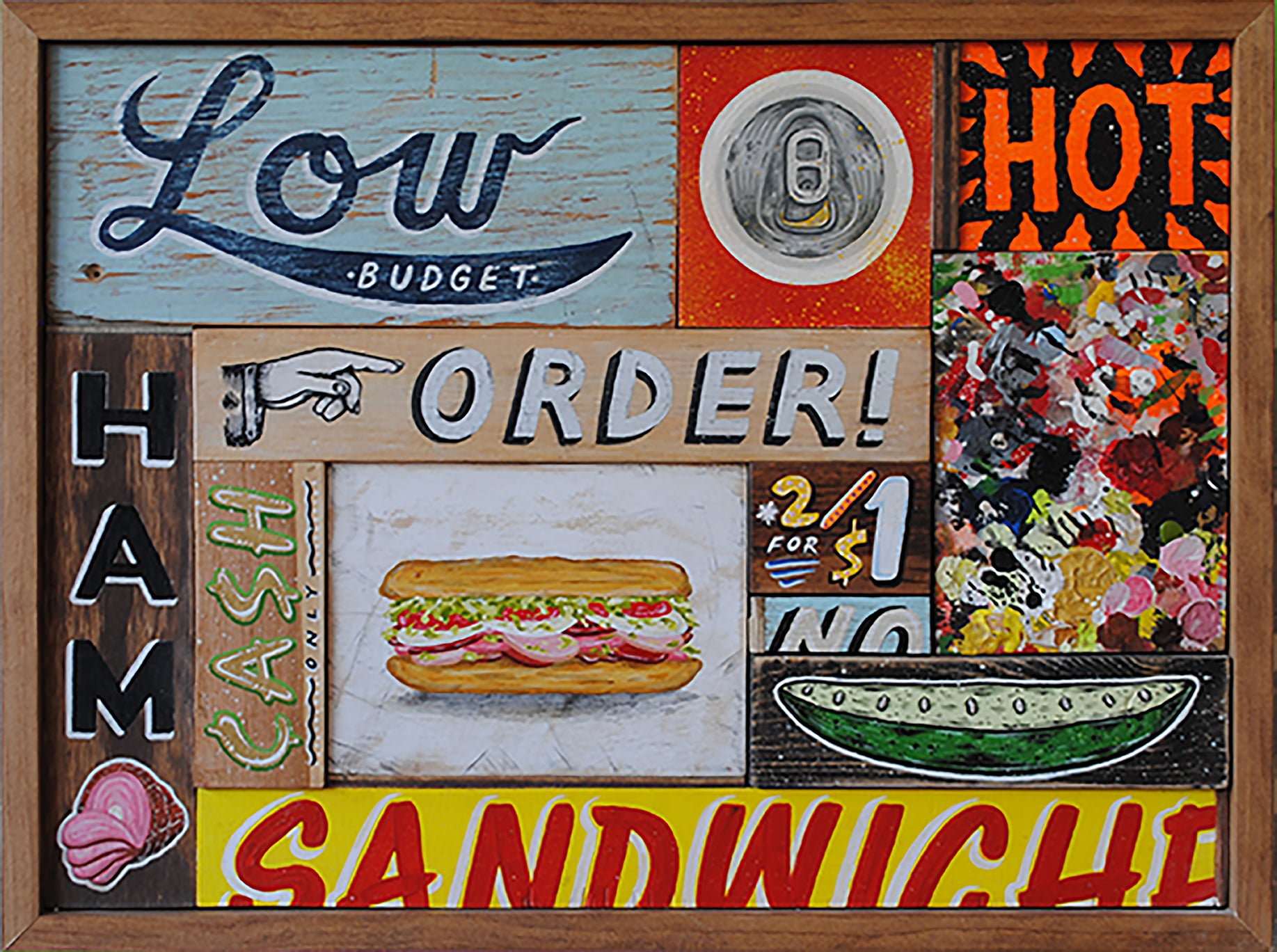 Low Budget Hot Sandwich Original by Erik Lundquist