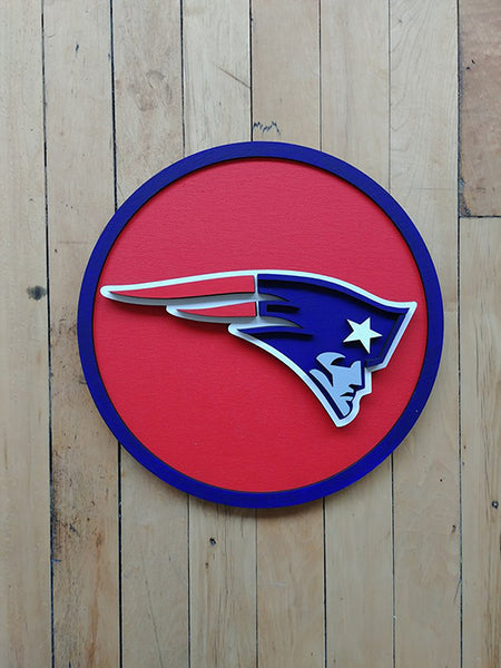 Patriots Plaque (Red) by Isabelle Tasseff-Elenkoff