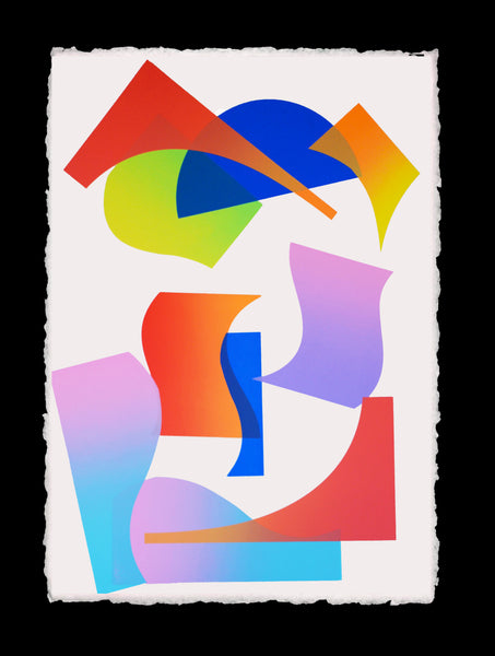 Queer Shapes Series (8) Print by Michelle Miller
