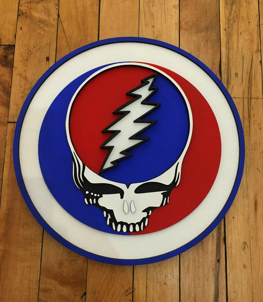 Grateful Dead Plaque by Isabelle Tasseff-Elenkoff