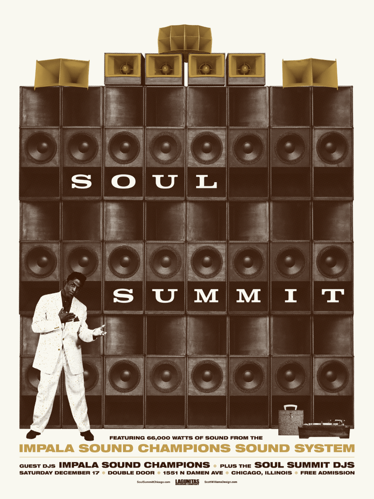 Soul Summit December 2016 Print by Scott Williams