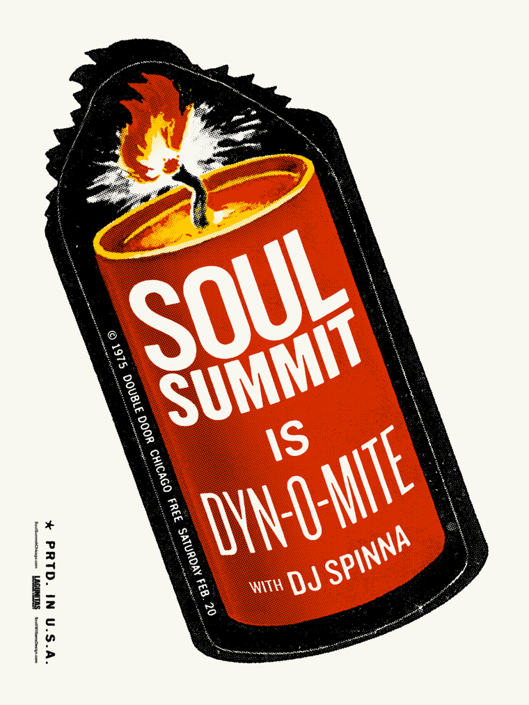 Soul Summit February 2016 Print by Scott Williams