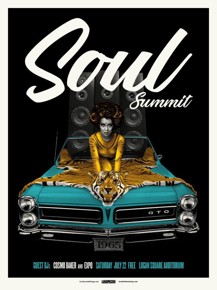 Soul Summit July 2017 Print by Scott Williams
