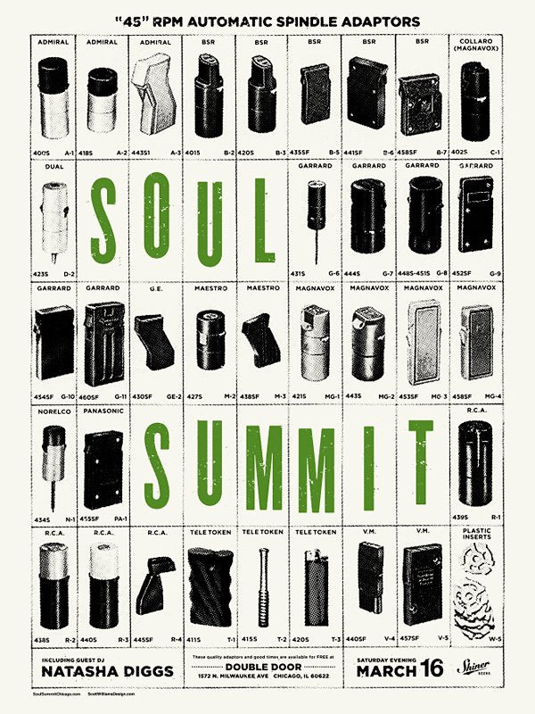 Soul Summit March 2013 Print by Scott Williams