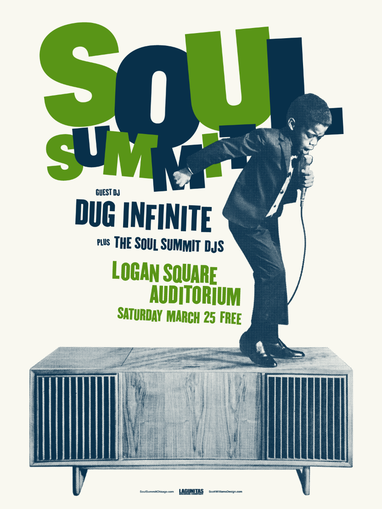 Soul Summit March 2017 Print by Scott Williams
