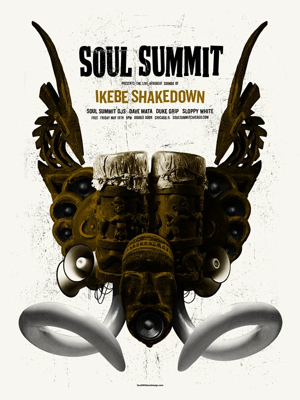 Soul Summit May 2011 Print by Scott Williams