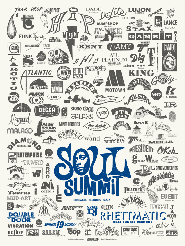 Soul Summit November 2016 Print by Scott Williams