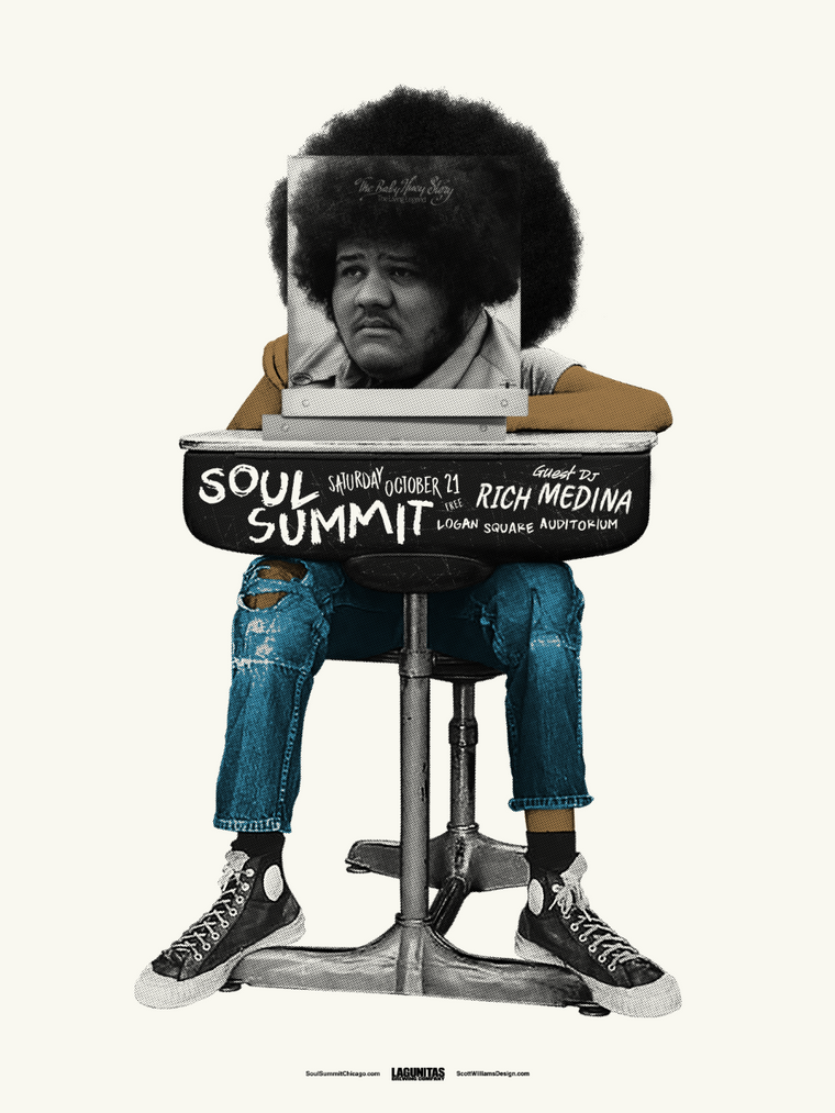 Soul Summit October 2017 Print by Scott Williams