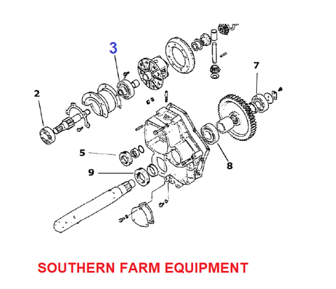 SF-6207-2RS   BEARING, BRAKE AXLE